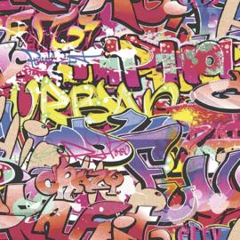 Behang Expresse What's Up 2 Graffiti behang WU 20671