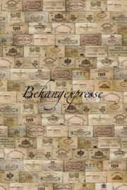 Behangexpresse COLORchoc Wallprint Wine Cellar INK 6081