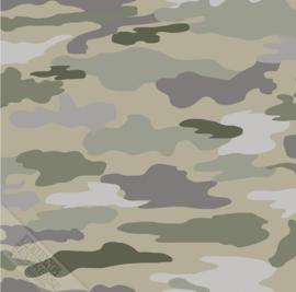 KidsWalls behang Camouflage 27148