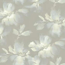 York Wallcoverings Candice Olson Tranquil behang Midnight Blooms SO2474