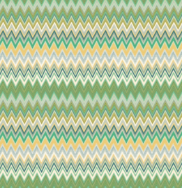 Hookedonwalls Missoni Home Zig Zag multicolore behang 20064