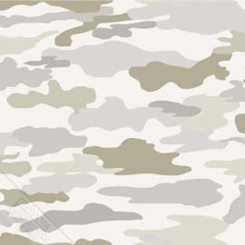 KidsWalls behang Camouflage 27151