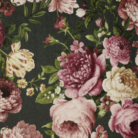 Arthouse behang Tapestry Floral Charcoal/Pink 297305
