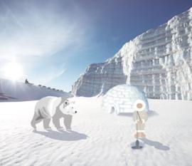 Eijffinger Wallpower Junior 364143 Polar Bear