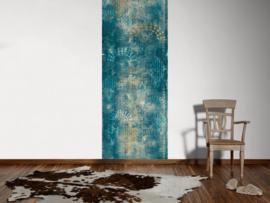 AS Creation Absolutely Chic Digital Print Stylized Blue Flower DD114650