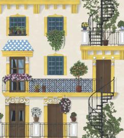 Cole & Son Seville behang Alfaro 117/4010
