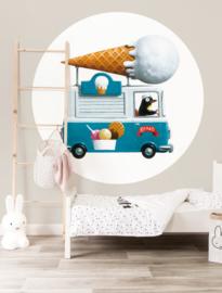 KEK Amsterdam Kids behangcirkel Icecream Truck CK-039