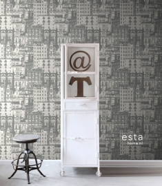 Esta Home Vintage Rules! behang 138226