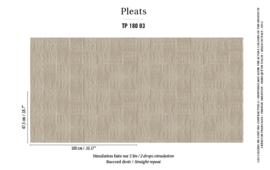Élitis Pleats behang Arts & Craft TP 18003
