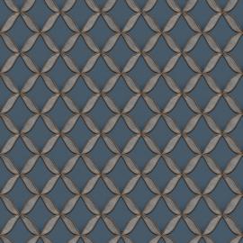 Dutch Fabric Touch behang Circle Geometric FT221227