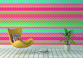 Behangexpresse Happy Living Wallprint Merida Bright TD4003