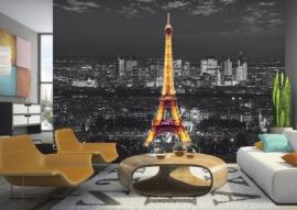 AG Design Fotobehang Eiffeltoren bij Nacht FTS1316