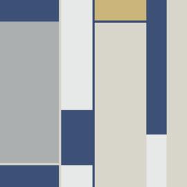 Hookedonwalls Tinted Tiles behang Opulent 29004
