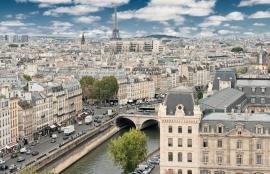 Dutch DigiWalls City Love Fotobehang Paris CL09A