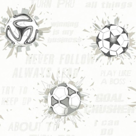 York Wallcoverings A Perfect World behang KI 0578 Soccer Ball Blast