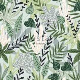 Esta Home Jungle Fever Wallpaper XXL Scandinavian Leaves 158894