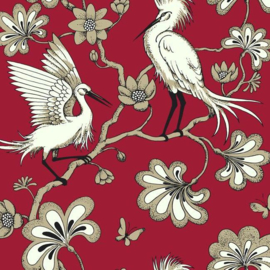 York Wallcoverings Florence Broadhurst behang Egrets FB1453