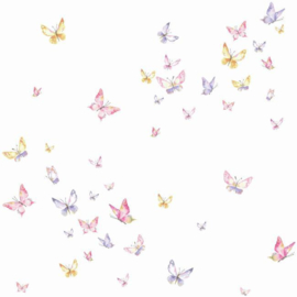 York Wallcoverings A Perfect World behang KI 0526 Watercolor Butterflies