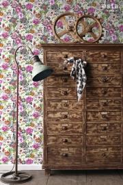 Esta Home Brooklyn Bridge WallpaperXXL Funky Flowers 158501