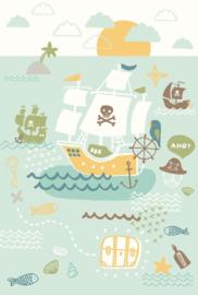 Eijffinger Wallpower Junior 364108 Pirates Ahoy Flat