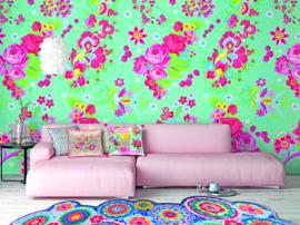 Behangexpresse Happy Living Wallprint Zoë Aqua TD4016
