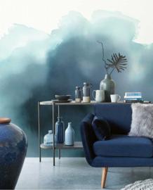 Eijffinger Waterfront Wallpower  Aquarelle Blue 300913