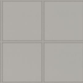 Rasch Club behang Leather Tiles 419009