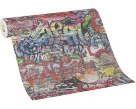 Home Collection Graffiti behang 0553010
