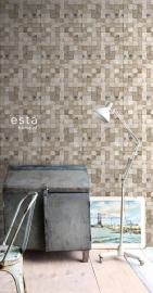 Esta Home Vintage Rules! WallpaperXXL Blokjes 158201