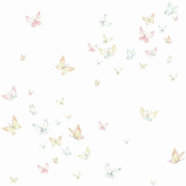 York Wallcoverings A Perfect World behang KI 0524 Watercolor Butterflies