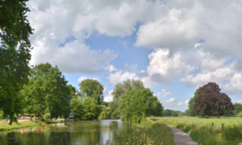 Noordwand Holland Fotobehang Kromme Rijn 3162