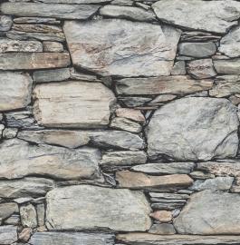 Dutch Reclaimed behang FD22304 Stacked Stones