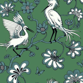 York Wallcoverings Florence Broadhurst behang Egrets FB1451