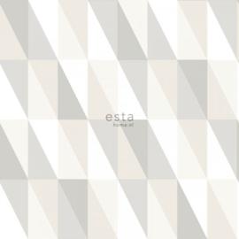 Esta Home Art Deco behang grafische Driehoeken 138922