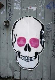 Dutch DigiWalls Fotobehang 1002 Skull