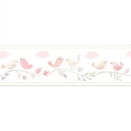 Casadeco Rose & Nino behangrand Frise Rose RONI 85594256