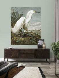 KEK Amsterdam Flora & Fauna behangpaneel Snowy Heron PA-009