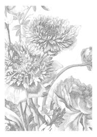 KEK Amsterdam Wonderwalls behang Engraved Flowers IV WP-330