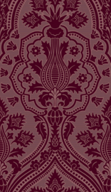 Cole & Son The Pearwood Collection behang Pugin Palace Flock 116/9034