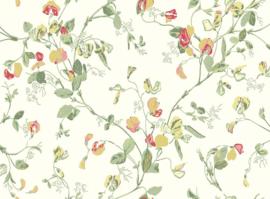 Cole & Son Botanical behang Sweat Pea 100/6027