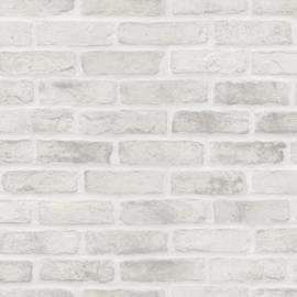 Esta Home Black & White - with a splash of gold behang Bakstenen 139137