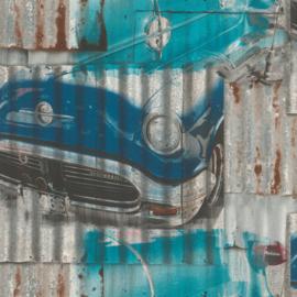 Rasch Kids & Teens III behang Auto's 212402