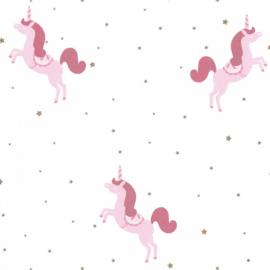 Caselio Girl Power behang Princess Unicorns GPR 100794101