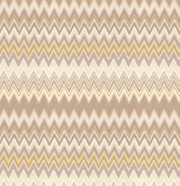 Hookedonwalls Missoni Home Zig Zag multicolore behang 10061