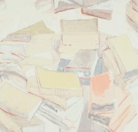 BN Van Gogh behang 17192 Piles of French Novels