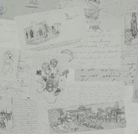 BN Van Gogh behang 17202 Letters