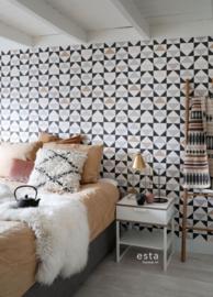 Esta Home Scandi Cool behang Grafische Driehoeken 139094
