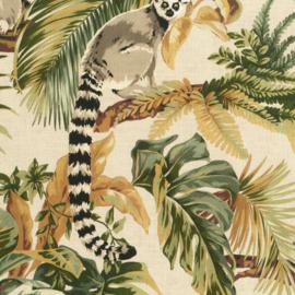 Hookedonwalls Lemuria behang Lemuri 60601