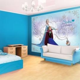 Disney Frozen Elsa & Anna Fotobehang 1635P8