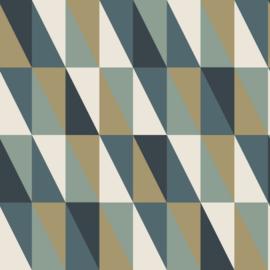 Esta Home Art Deco behang grafische Driehoeken 139197